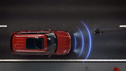 Front Assist with pedestrian monitoring